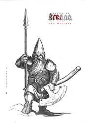 dwarf by 2blind2draw