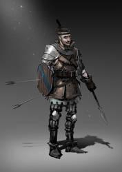 mercenary by 2blind2draw