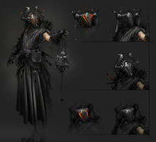the warlock by 2blind2draw