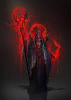 Bloodmage concept - Sigantium by 2blind2draw