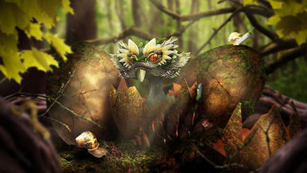 Hidden Nest by Sehiloia