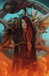 Dragonfire by Sehiloia