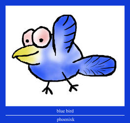 blue-bird by phoenixk
