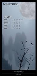 calendar-november by phoenixk