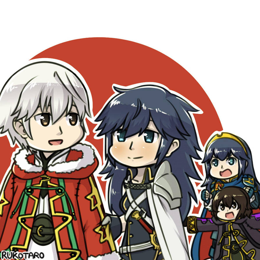 Feh Winter Robin And Fchrom By Rukotaro On Deviantart