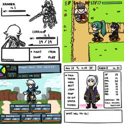 [FE x Various] FE in other Video Games Styles by Rukotaro