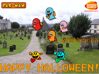 A Pac-Man in the Real World Halloween by amf2002-Xavier