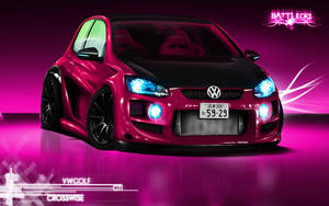 VW Golf Gti Studio Wallpaper by Battle-Cry-TR