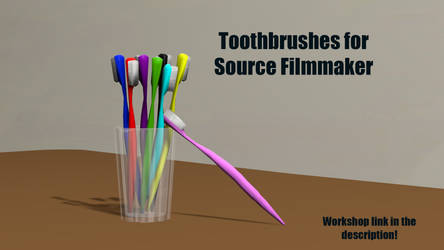 Toothbrush [SFM Workshop DL] by Nikolad92