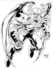 Aezal of the cosmic Vanguard!  by Captain-Unity