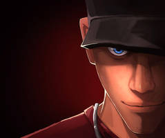 TF2 scout by biggreenpepper