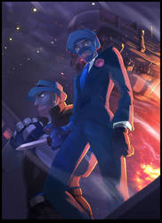 TF2 Blue team Mafia by biggreenpepper