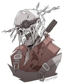 TF2 zombie engineer by biggreenpepper