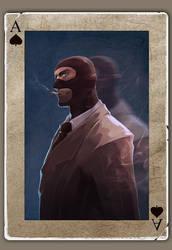 TF2 Poker spy by biggreenpepper
