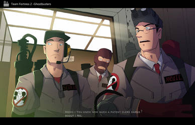 TF2 Ghostbusters by biggreenpepper