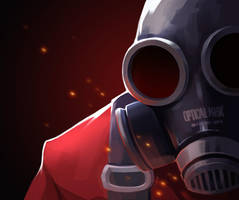 Tf2 This Pryo mousepads by biggreenpepper