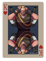 pokerTF2 K heavy red by biggreenpepper