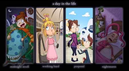 HhaW . a day in the life by scheree