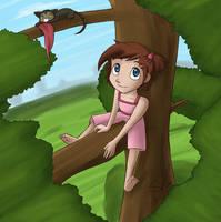 Tree Climbing by scheree