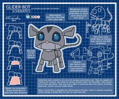 PB. Glider-Bot Schematics by scheree