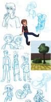 sketchadoodles .20101023. by scheree