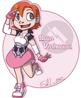 RWBY.Nora by scheree