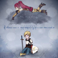 RWBY.If there was a moment, I guess we missed it by scheree
