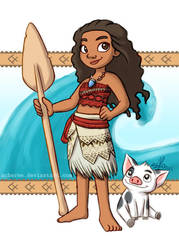 Moana by scheree