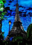 Eiffel Pride  Tower by DemonaTheOperator