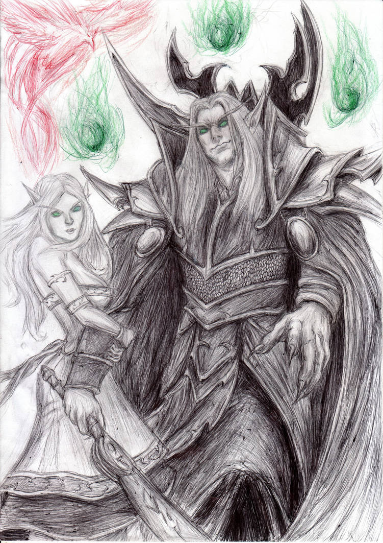 Warcraft - Kael'thas by KaeltheArchon