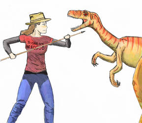 How to kill a velociraptor by Simmons2-0
