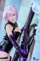 Fate/ Grand Order VR Mashu Kyrielight cosplay by Korixxkairi