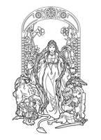 Maleficenta lines by deviantAshtareth