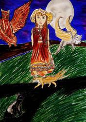 Girl by Eisschweif