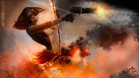 Borderlands 2 - Captain Scarlett by Sukus