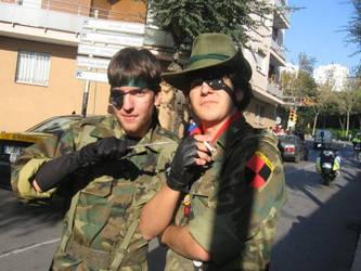 Snake and Bernadotte by Belenger14