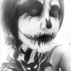 Jack Skellington Makeup by BlueeyesDante