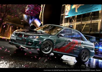 Subaru Impreza by Tworas