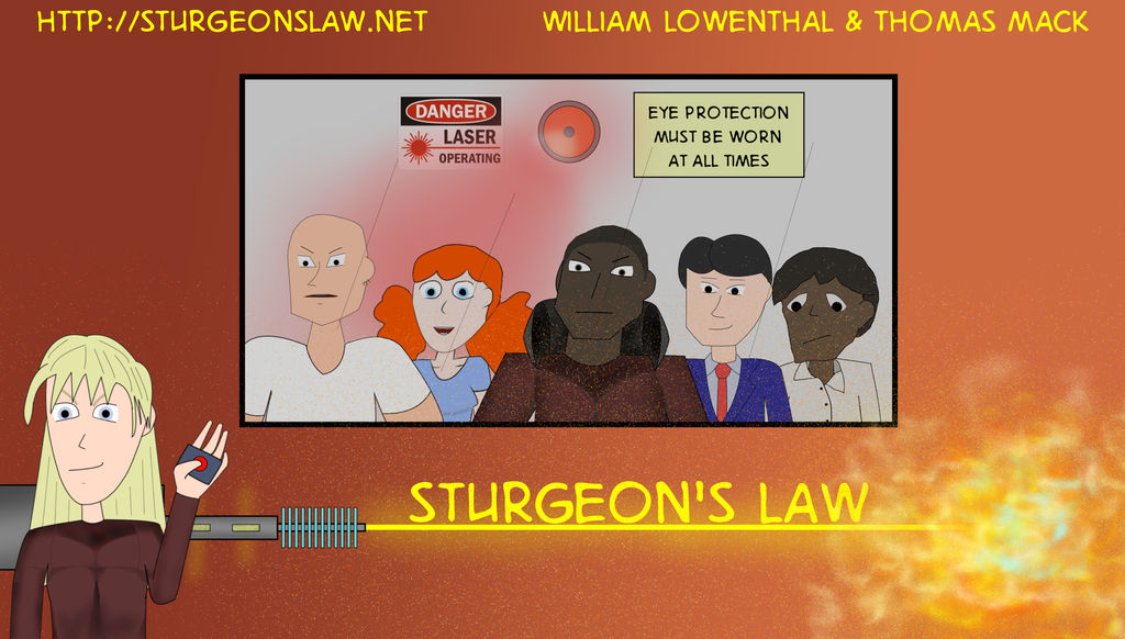 Sturgeon's Law by Foodgiver