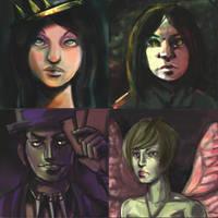 Younger Disney Villains 2 by Derelict-of-Eden