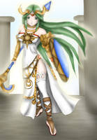 Palutena, Goddess of Light by Lady-of-Link
