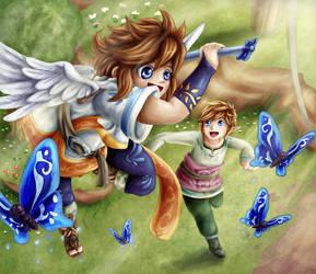 Skyloft Hunters by Lady-of-Link