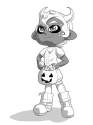 Day 19: Splatoween by Lady-of-Link