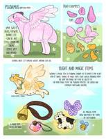 Psudamu Species Sheet by CreamyGaIaxies