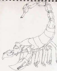 scorpion tank thingy by sgt-scales