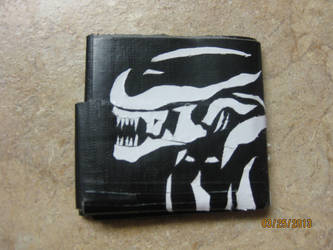 Xenomorph Wallet by sgt-scales