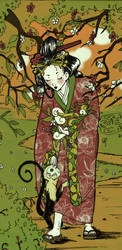 Yoshihide's Daughter by MushkiKizou-Art