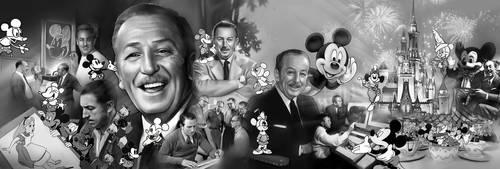 Walt Disney by kazuki2013