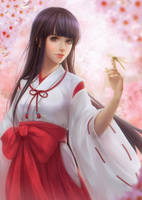 Miko's Spring by kazuki2013