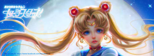 Sailor Moon by kazuki2013